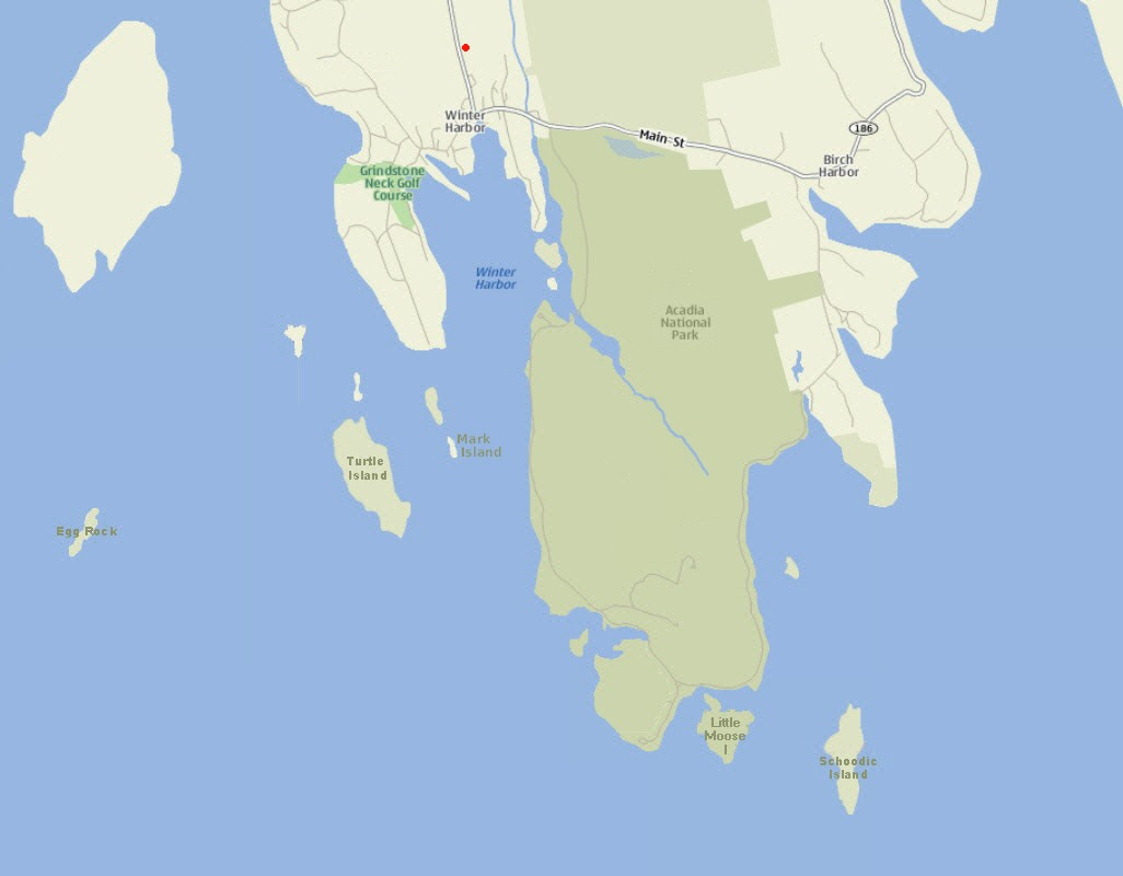 small schoodic point map